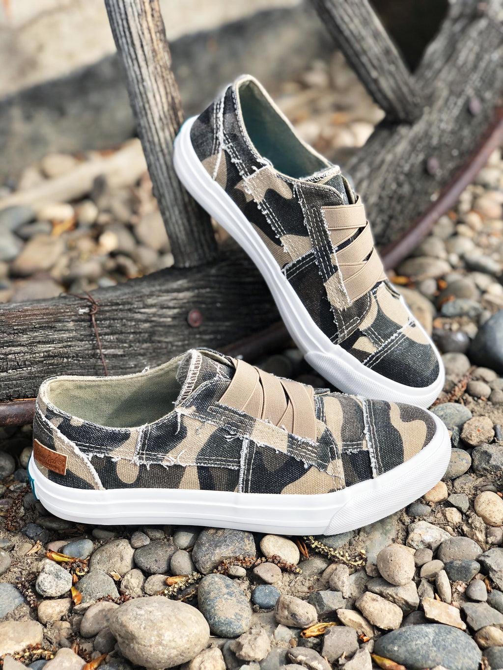 The Camouflage Sneaker
