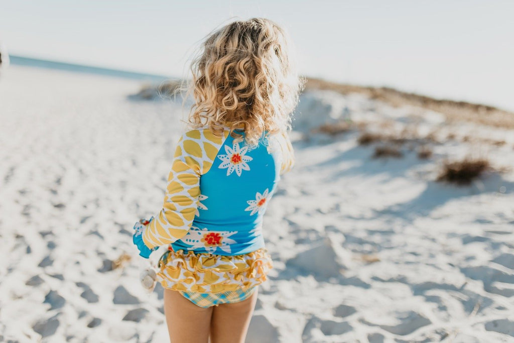 Sunflower girls swim suit