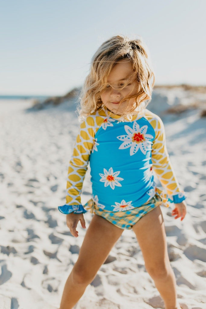 Sunflower rashguard set