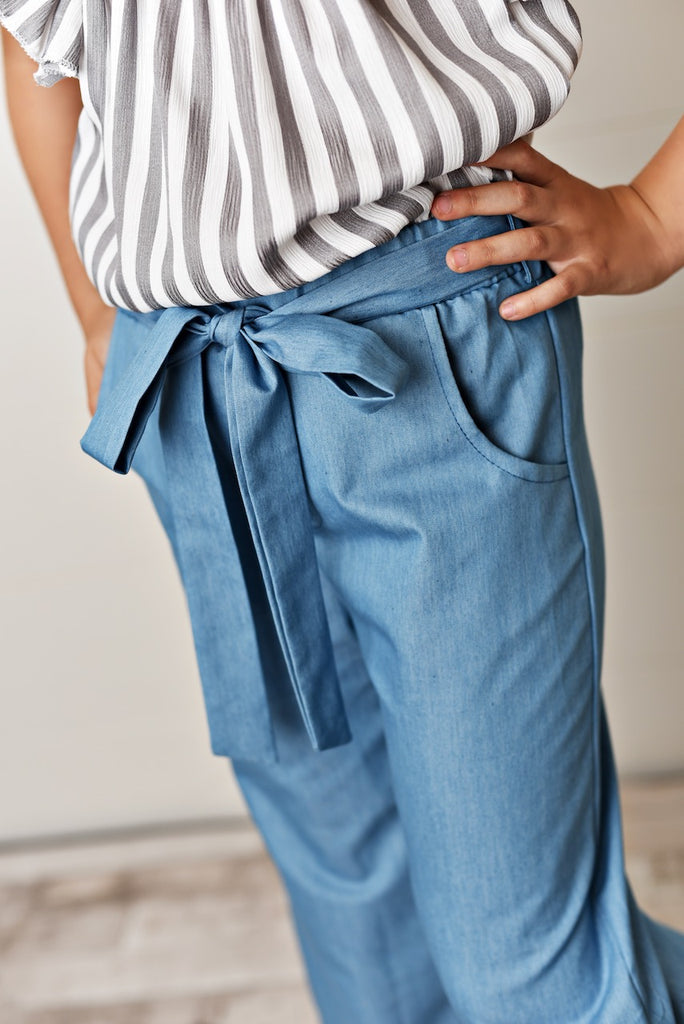 Bell Bottom Pant Set