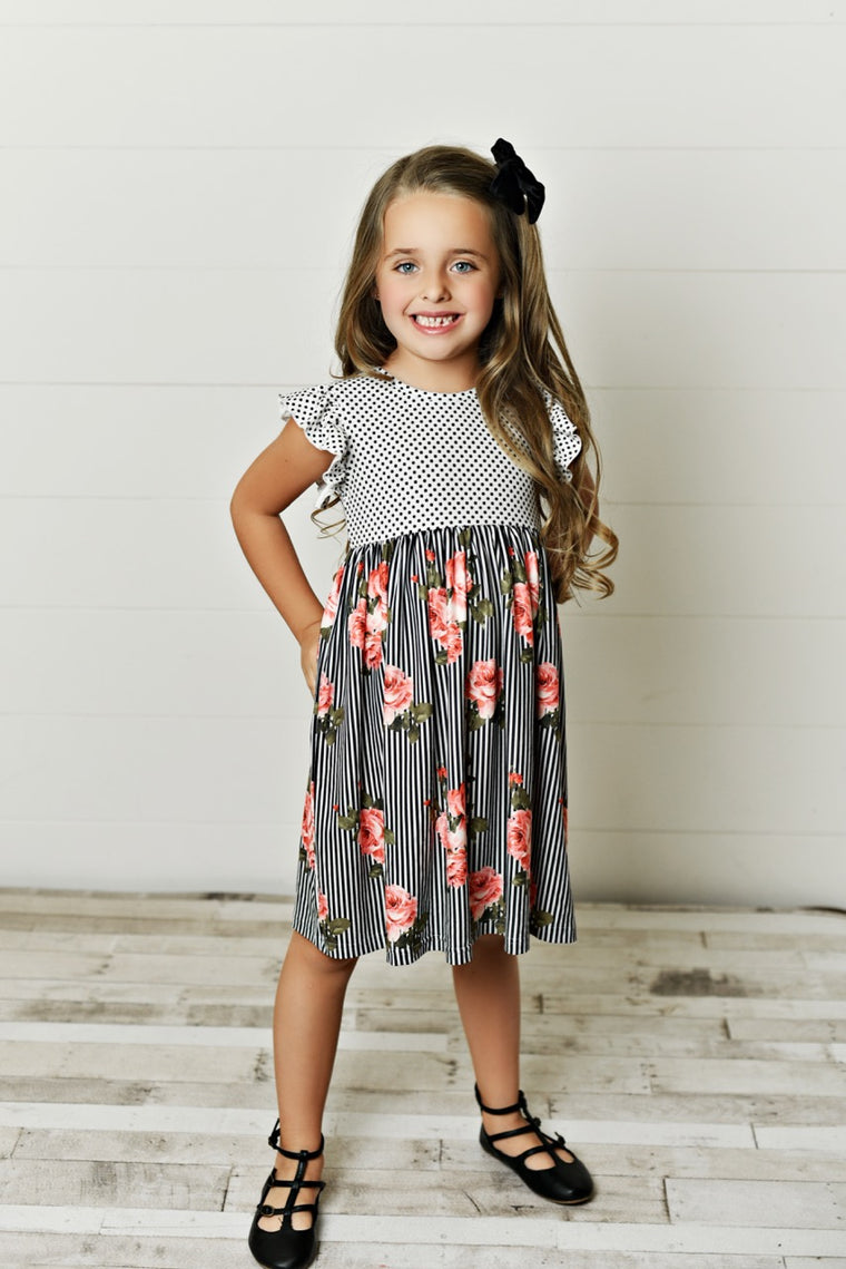 Twirl girl dress