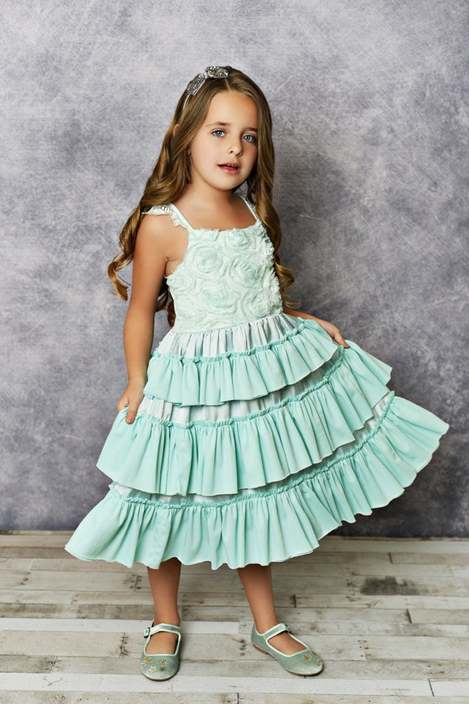Girls Mint Dress