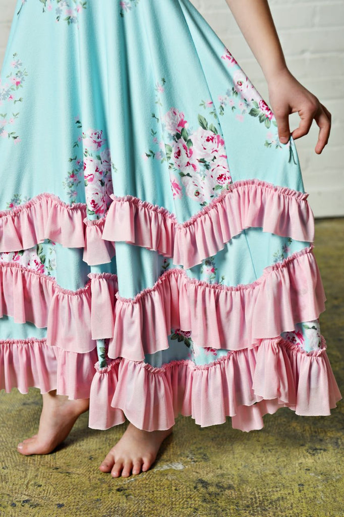 Girls Ruffles Dress