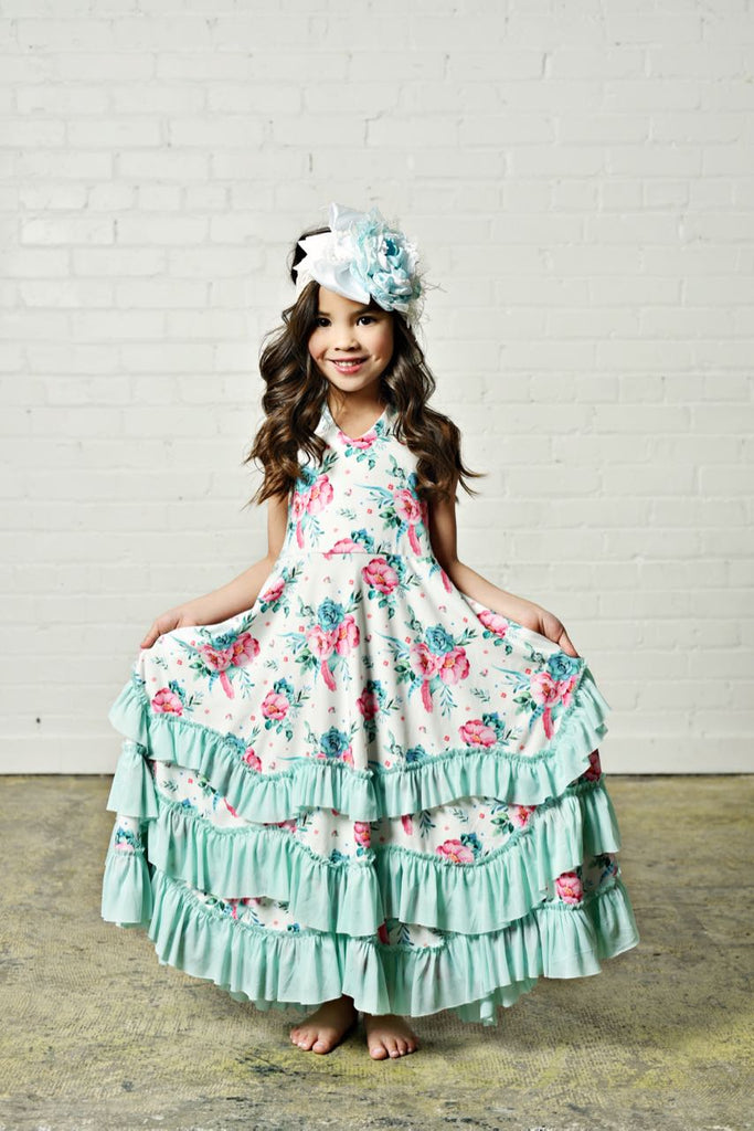 Girls Ruffle Dress