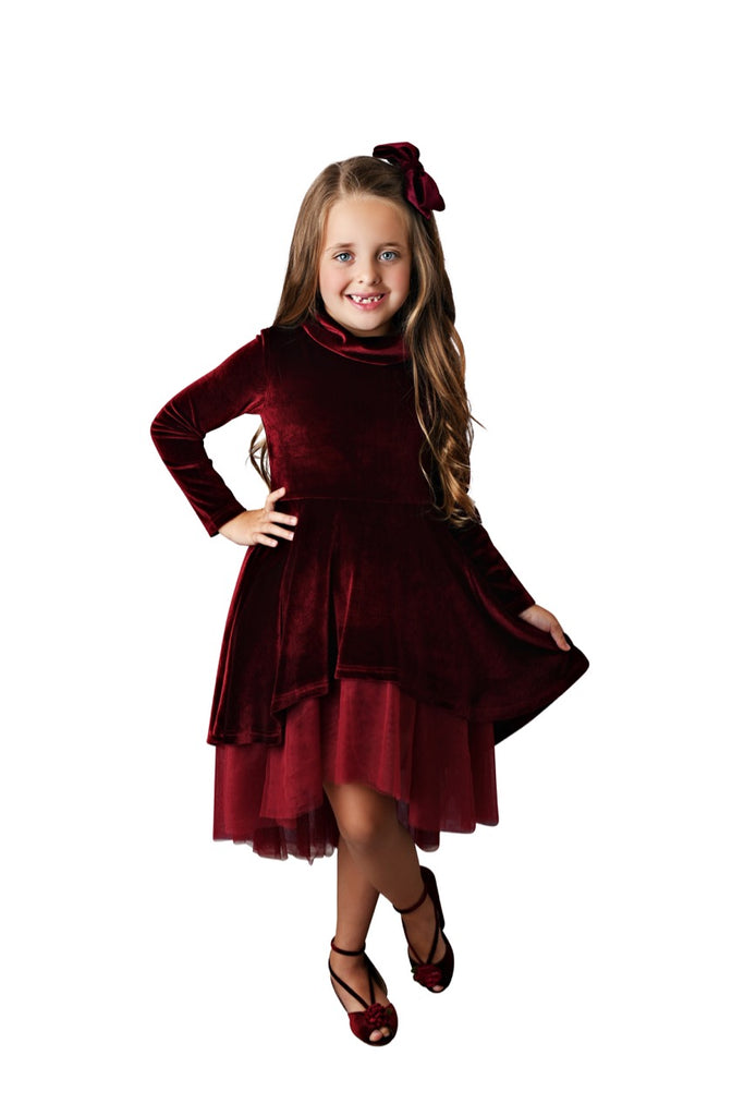 Winter Wine Dress