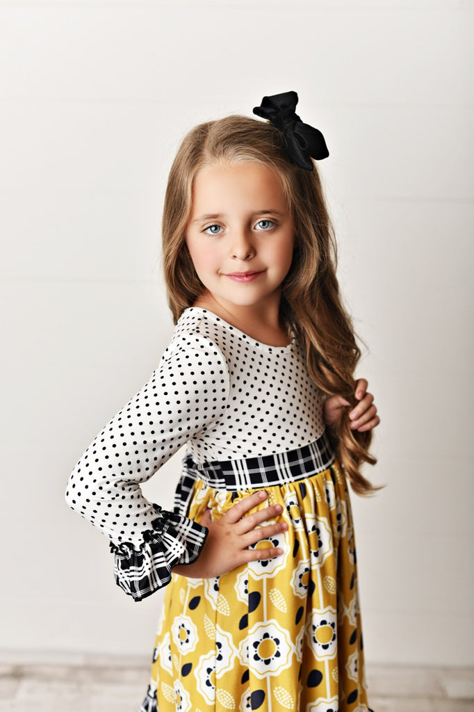 fall girls dress