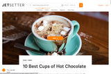 Jetsetter: 10 Best Cups of Hot Chocolate