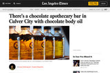 LA Times: There's a chocolate apothecary bar in Culver City