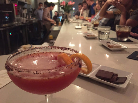 Blood Orange Tea Manhattan