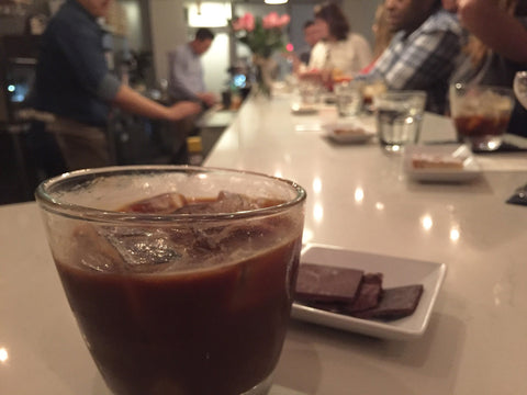 Blood Orange Espresso Old Fashioned