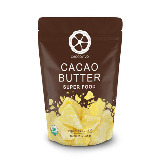 Bag of organic Cacao Butter from our fair trade cacao grower