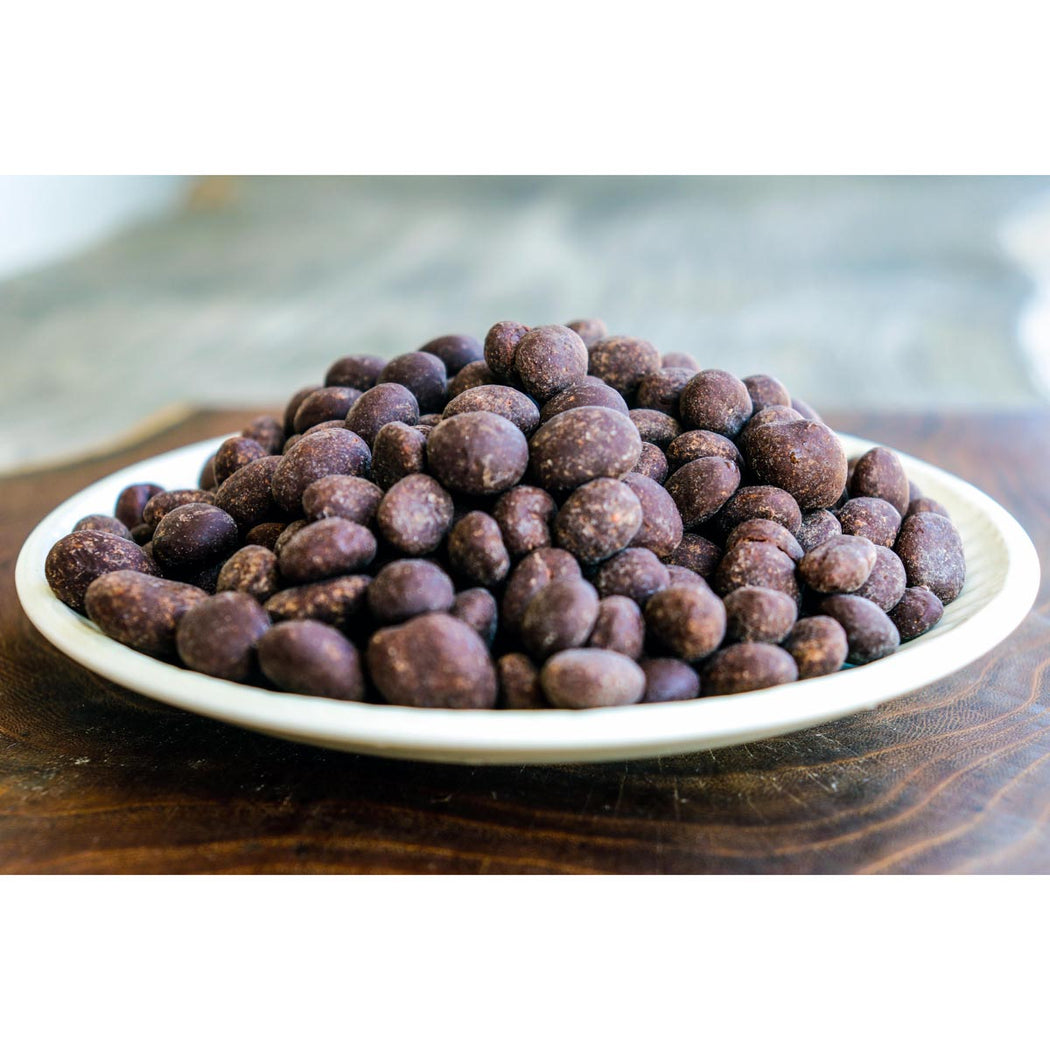 Chocolate Covered Raisins 60% and 100% Cacao
