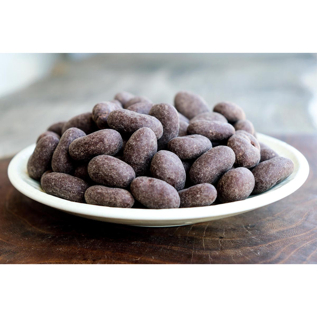 Chocolate Covered Almonds 60% and 100% Cacao