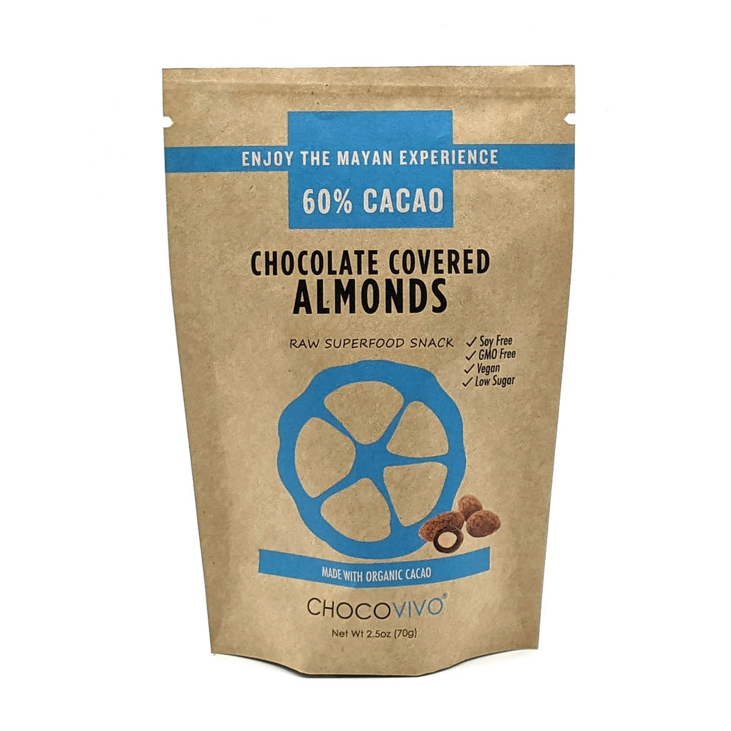 Chocolate Covered Almonds 60%