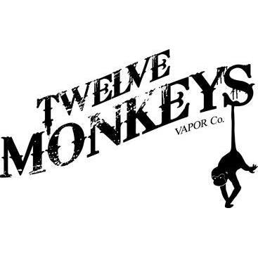 Twelve Monkeys E-Liquid-Vape Cloud UK