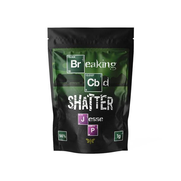 Breaking CBD 98% CBD Shatter - 1g-CBD Products-Vape Cloud UK