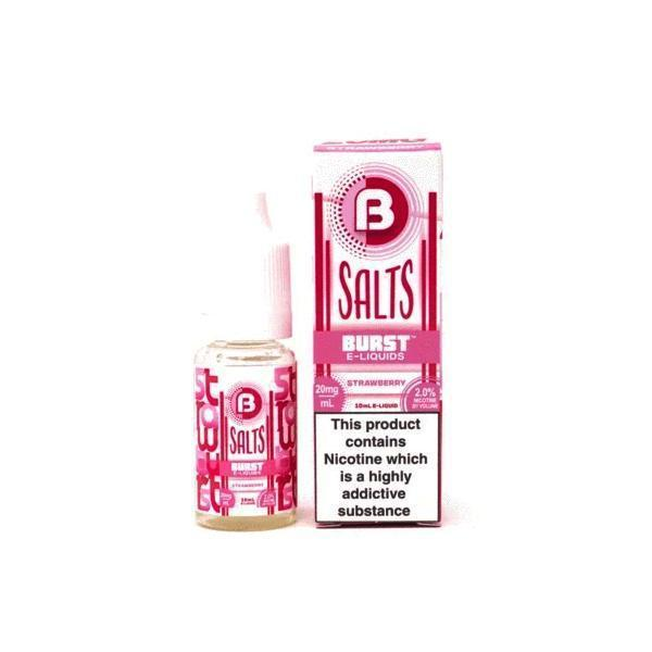 Burst Nic Salts 10mg E-Liquid-Vape Cloud UK