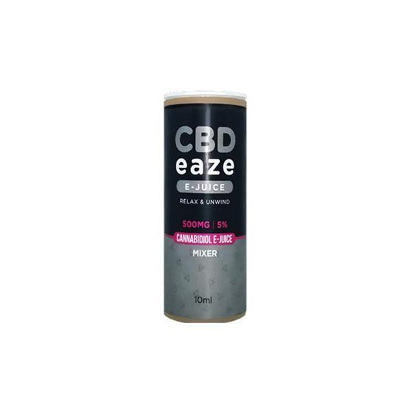 CBD Eaze 500MG CBD 10ml E-Liquid-CBD Products-Vape Cloud UK