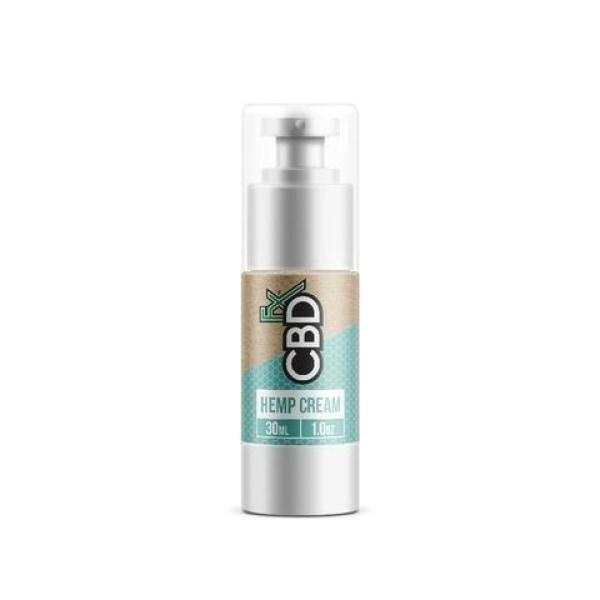 CBDfx 100mg Hemp Cream 30ml CBD Lotion-CBD Products-Vape Cloud UK
