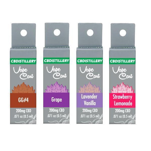CBDistillery 200mg CBD Vape Cartridges-CBD Products-Vape Cloud UK
