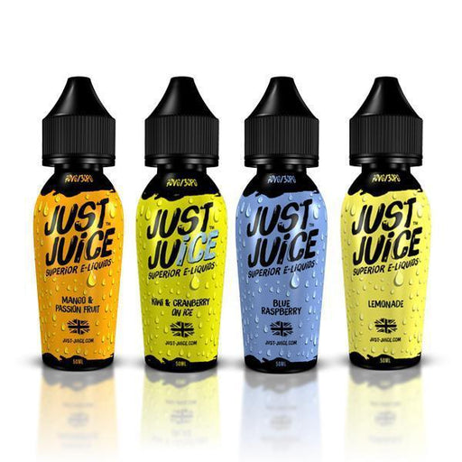 CLEARANCE! - Just Juice 0mg 50ml Shortfill (70VG/30PG)-Vaping Products-Vape Cloud UK