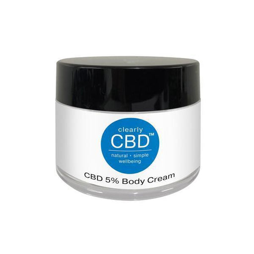 Clearly CBD 500mg CBD Body Cream 100ml-CBD Products-Vape Cloud UK