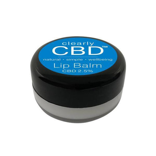 Clearly CBD Lip Balm 25mg CBD 10g-CBD Products-Vape Cloud UK