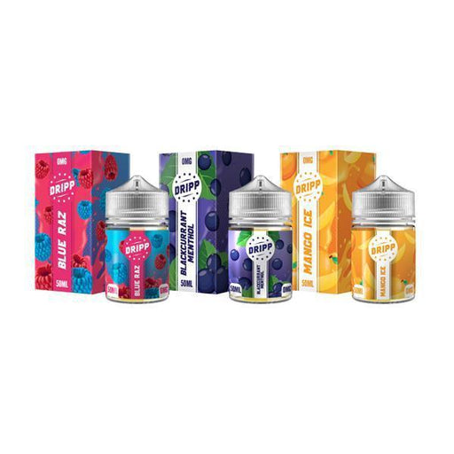 Dripp 50ml Short Fill E-Liquid-Vaping Products-Vape Cloud UK