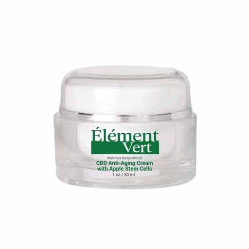 Element Vert CBD Anti-Aging Cream with Apple Stem Cells 30ml-CBD Products-Vape Cloud UK