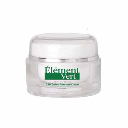 Element Vert CBD Tattoo Aftercare Cream 30ml-CBD Products-Vape Cloud UK