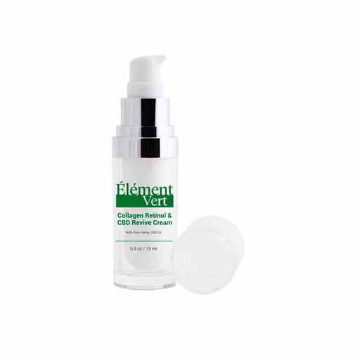 Element Vert Collagen Retinol & CBD Revive Cream 15ml-CBD Products-Vape Cloud UK