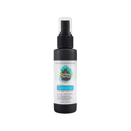 Green Apron 500mg Muscle Rub Massage Oil 250ml-Vape Cloud UK