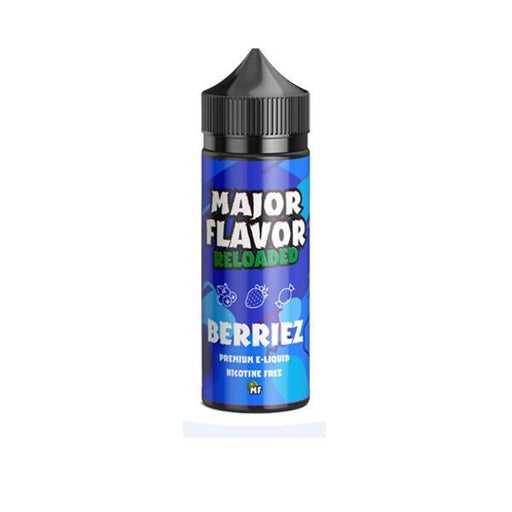 Major Flavor Reloaded 100ml Shortfill 0mg (70VG/30PG)-Vape Cloud UK