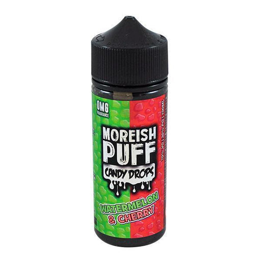 Moreish Puff - 100ml - Candy Drops Watermelon & Cherry-Eliquid 100ml +-Vape Cloud UK