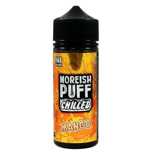 Moreish Puff - 100ml - Chilled Mango-Eliquid 100ml +-Vape Cloud UK