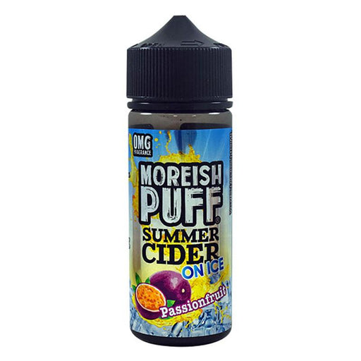 Moreish Puff Summer Cider on Ice - 100ml - Passion Fruit-Eliquid 100ml +-Vape Cloud UK