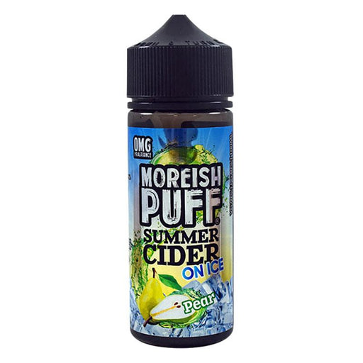 Moreish Puff Summer Cider on Ice - 100ml - Pear-Eliquid 100ml +-Vape Cloud UK