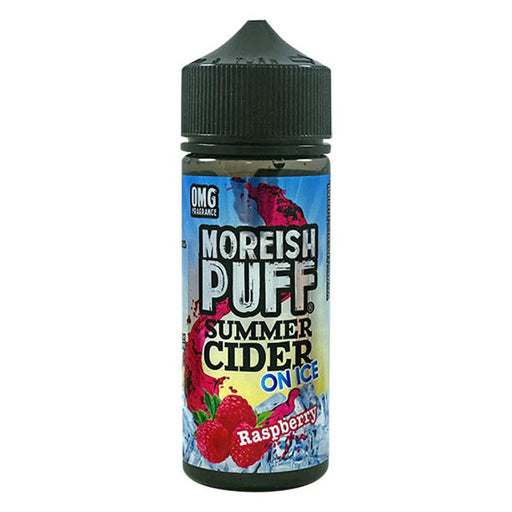 Moreish Puff Summer Cider on Ice - 100ml - Raspberry-Eliquid 100ml +-Vape Cloud UK