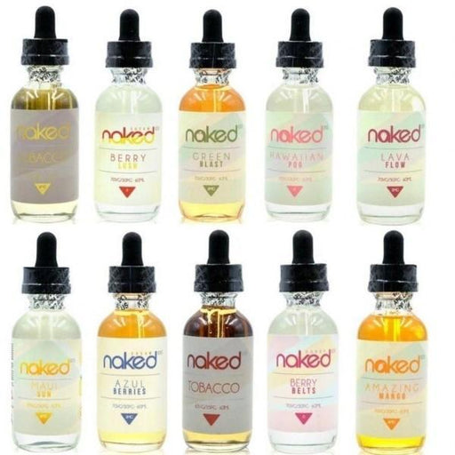 Naked 50ml Short Fill E-Liquid-Vape Cloud UK
