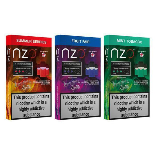 NZO 10mg Leprechaun Liquids Nic Salt (50VG/50PG)-Vape Cloud UK