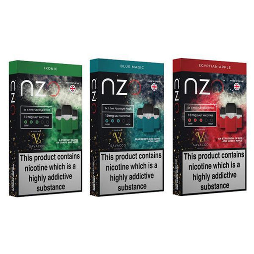 NZO 10mg Savacco Nic Salt (50VG/50PG)-Vaping Products-Vape Cloud UK