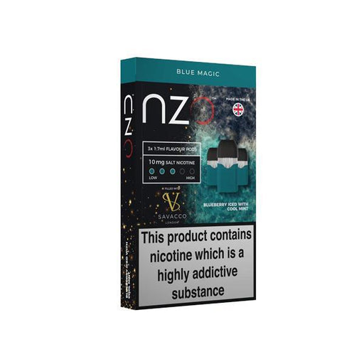 NZO 10mg Savacco Nic Salt (50VG/50PG)-Vape Cloud UK