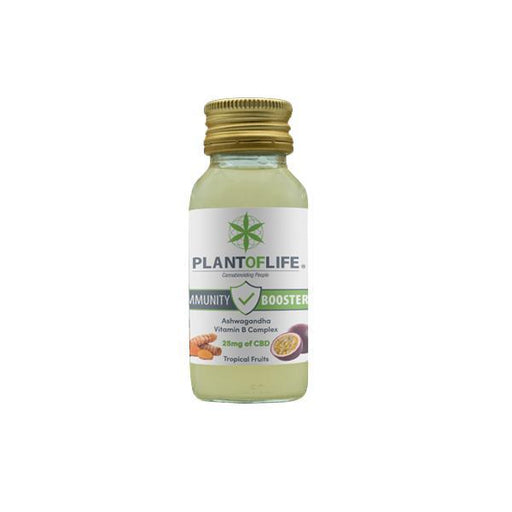 Plant Of Life 25mg CBD Immunity Booster 60ml-CBD Products-Vape Cloud UK