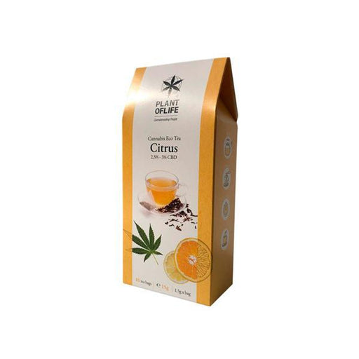 Plant Of Life Infusion CBD Tea - Citrus-Vape Cloud UK