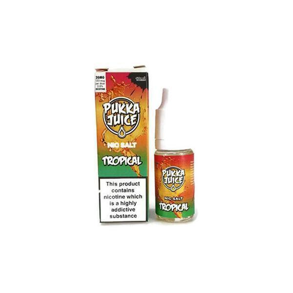Pukka Juice Nic Salt 10mg E-Liquid-Vaping Products-Vape Cloud UK