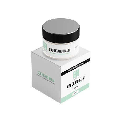 Pure 500mg CBD Beard Balm - 50g-CBD Products-Vape Cloud UK