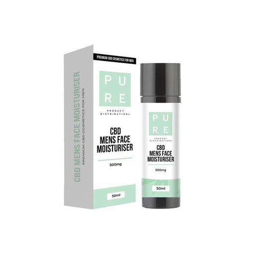 Pure 500mg CBD Mens Moisturiser - 50ml-CBD Products-Vape Cloud UK