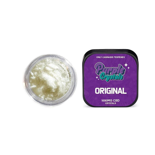 Purple Crystals by Purple Dank 1000mg CBD Crystals - Original Terpsolate-Vape Cloud UK