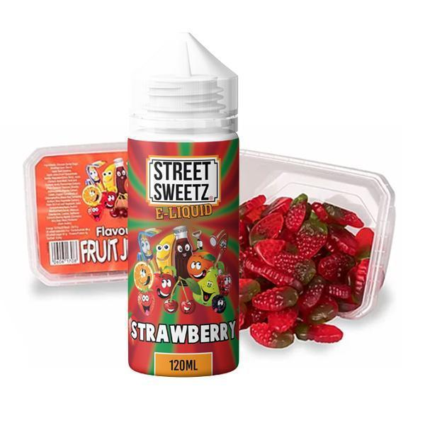 Street Sweetz 100ml Short Fill E-Liquid + 210g Jelly Sweets Combo-Vaping Products-Vape Cloud UK
