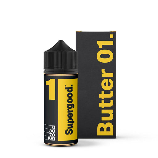 Supergood - Butter - 100ml Short Fill - E-liquid-Vape Cloud UK